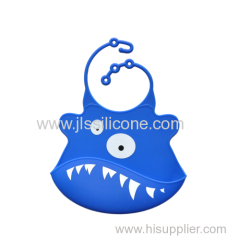 Waterproof silicone baby bibs interesting shape