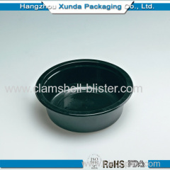 Round Plastic salad or food container