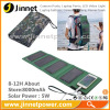 8000mAh portable power solar battery charger for mobile phone tablet PC
