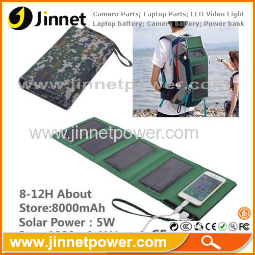 portable power solar battery charger for mobile phone tablet PC