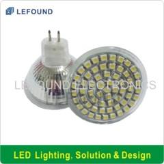 CE CB Approval MR16 G5.3 LED spot light bulb Glass