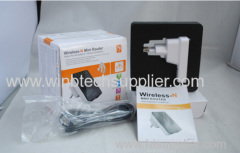 Newest Wireless-N Wifi Repeater 802.11N B G WI FI Network Router Range Expander 300M 2dBi Antennas Signal Booster Amplif