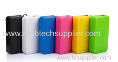 usb power bank 4400 small boudin and charging mini usb super fashion desion power bank
