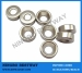 N45 D3/8in.x1/8in.Ring NdFeB Countersunk Magnet W/ hole #4 /Ni