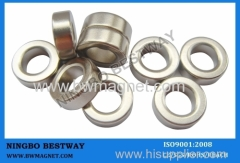 N33EH Ring NdFeB Magnet OD6*ID8*T6.35mm Ni Coating