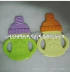 Two Colors Silicone Baby Teether