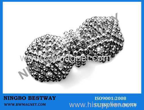 D5MM Balls Magnetic with Silver Coating intelligence buckyball sphere