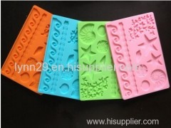 New design cake decorating tools fondant mold silicon mould