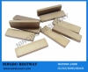 Sintered permanent block magnet separator magnets