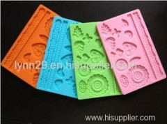 New!! -Silicone veined icing mould