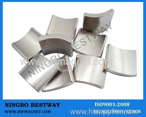Sintered Neodymium Arc magnets