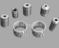 Rotor magnets for permanent magnetic motors