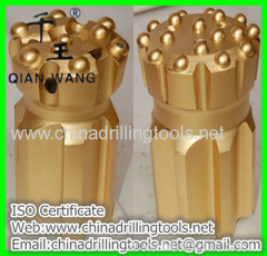 tungsten carbide bore hole button bit