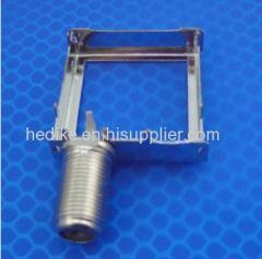 coaxial f connector shielding cover