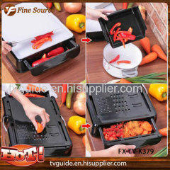Chopping Board with Container 3 in 1 chopping board