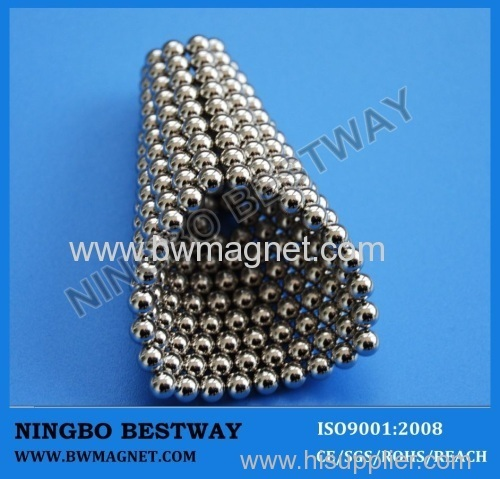Mini magnet balls with Ni Plated