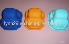 food grade silicone car cake mold