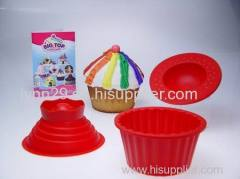 Big Top Cupcake Silicone cupping Set