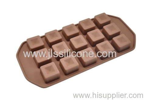 Silicone Chocolate Mould Ice Cube Tray