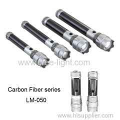 2014 New Dry Battery Series For North American Market ! 10W High Power Focus Aluminum Torch With Carbon Fiber LM-050