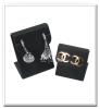 black iron earring display