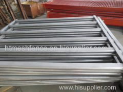 Hot-dipped Galvanized Pipe Horse Paddock Fence Panel