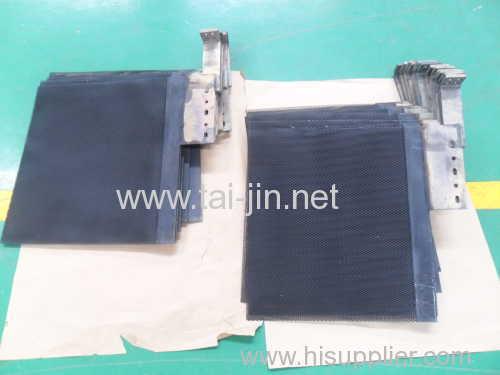 Aluminum Foil Forming MMO Coating Titanium Mesh Anode