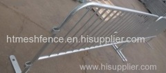 Hot-dipped galvanized pededtrian crowd control barrier