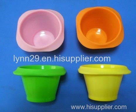 Lovely FDA and LFGB Silicone cake cup mold for Baking Cakes
