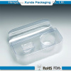 Plastic clamshell packaging trays for cosmetic