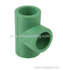 PPR Straight Tee Pipe Fittings PN25
