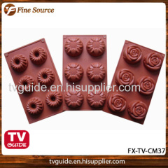 2014 Hot Sales Silicone Cake Mould delicious easy