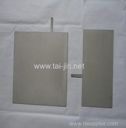 hho generator usage titanium anode with platinum coating