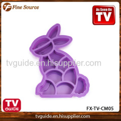 New Design Silicone Cookie Mould Rabbit pattern 05