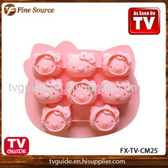 2014 Silicone Cake Mold Dessert Decorating Mould easily use
