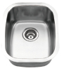 single bowl kitchen stainless steel wash basin