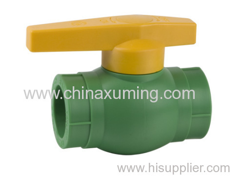 PPR Ball Valves With Brass Ball Pipe Fittings
