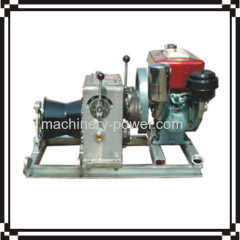 Normally Used Diesel Engine Powered Winch