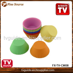 Silicone Cupcake Molds for cake Decoration Silicone Bakery Cupcake