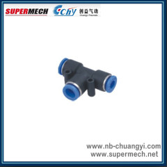 PUT Pneumatic pleastic pipe fitting made in china