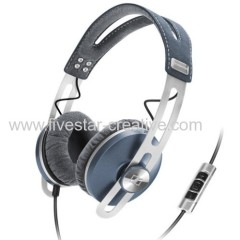 Sennheiser Momentum On-Ear Series Headband Headphones Blue with Mic China Manufacturer