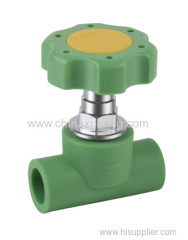 PPR Heavy Stop Valve Pipe Fittings