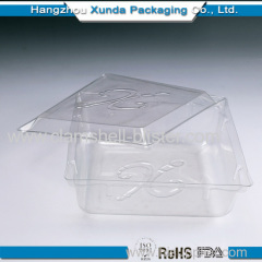 clear plastic cake box with covers
