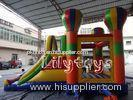 large outdoor House ballon Inflatable Combos Slide For Kid Funny Party