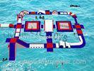 Commercial Grade Fabric PVC inflatable floating water park for adult kids
