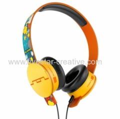 Sol Republic Special Edition Deadmau5 HD Tracks On-Ear Headphones Orange