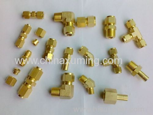 Brass Female Thread Tee Pipe Fittings