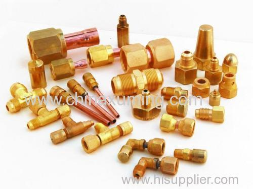 Brass Male Coupler Fittings With Nut Pipe Fitting