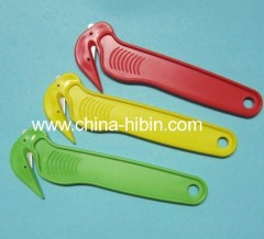 Plastic safety box cutter carton cutter