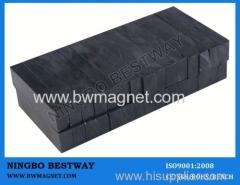 Y35 10x15x3mm Ferrite Magnets Ceramic Block Shape